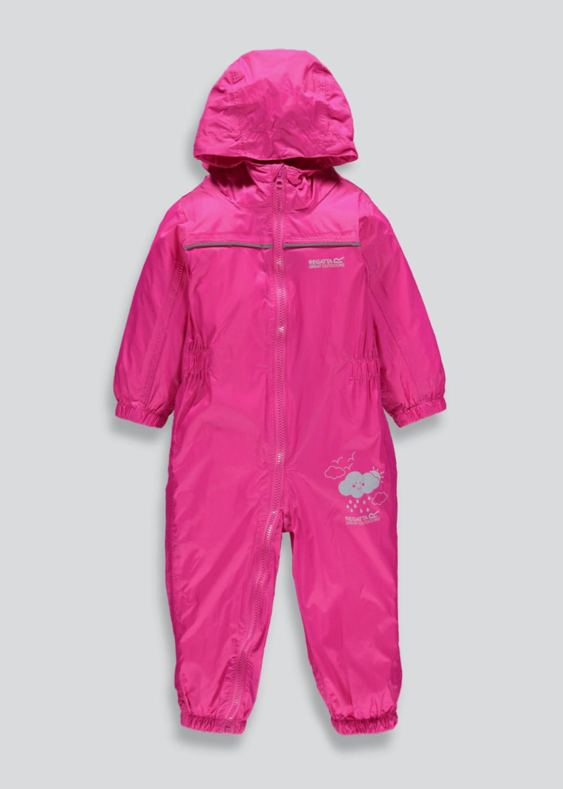 Regatta Pink Waterproof Puddle Suit (12mths-5yrs)