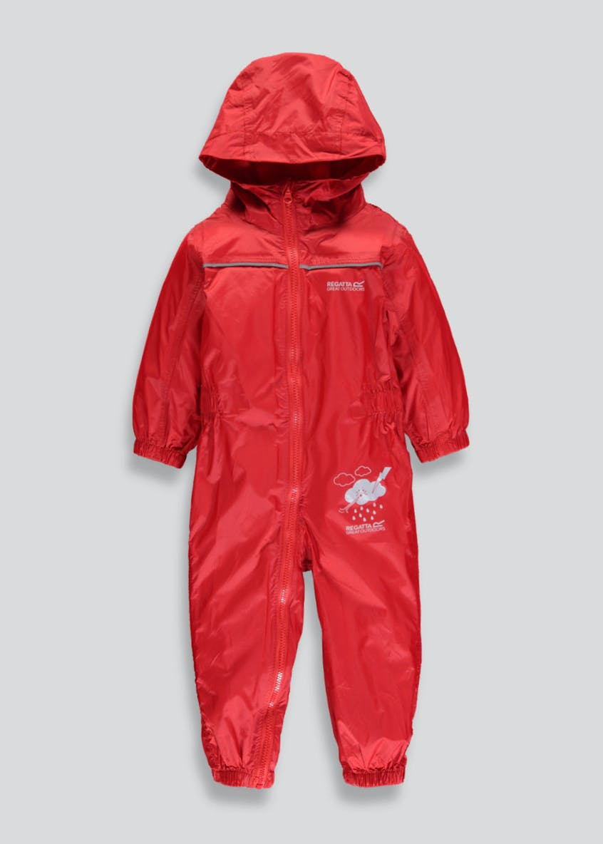 Regatta Red Waterproof Puddle Suit (12mths-5yrs)