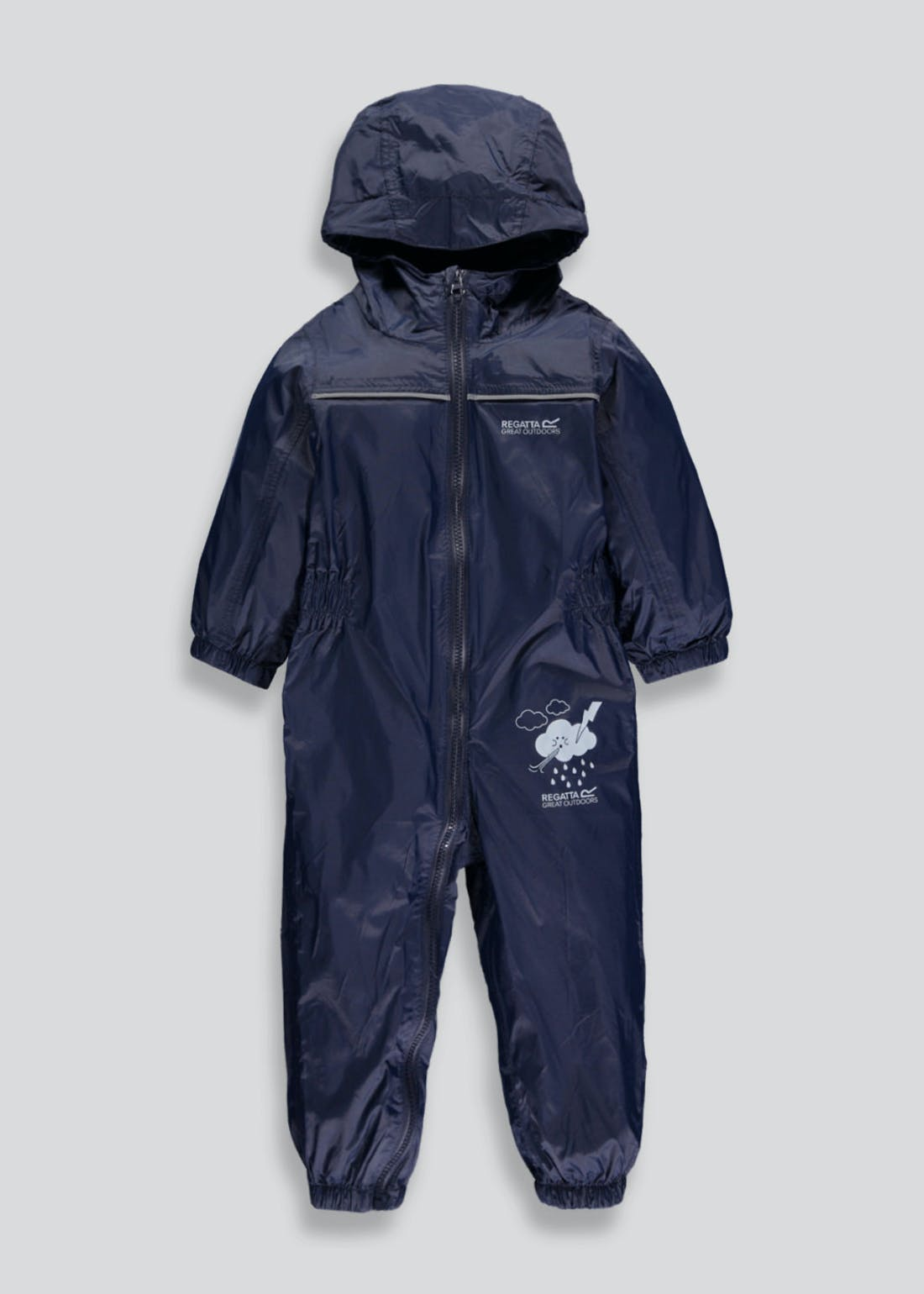 Regatta Navy Waterproof Puddle Suit (12mths-5yrs)