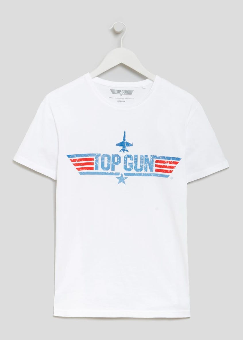 Top Gun Print T-Shirt