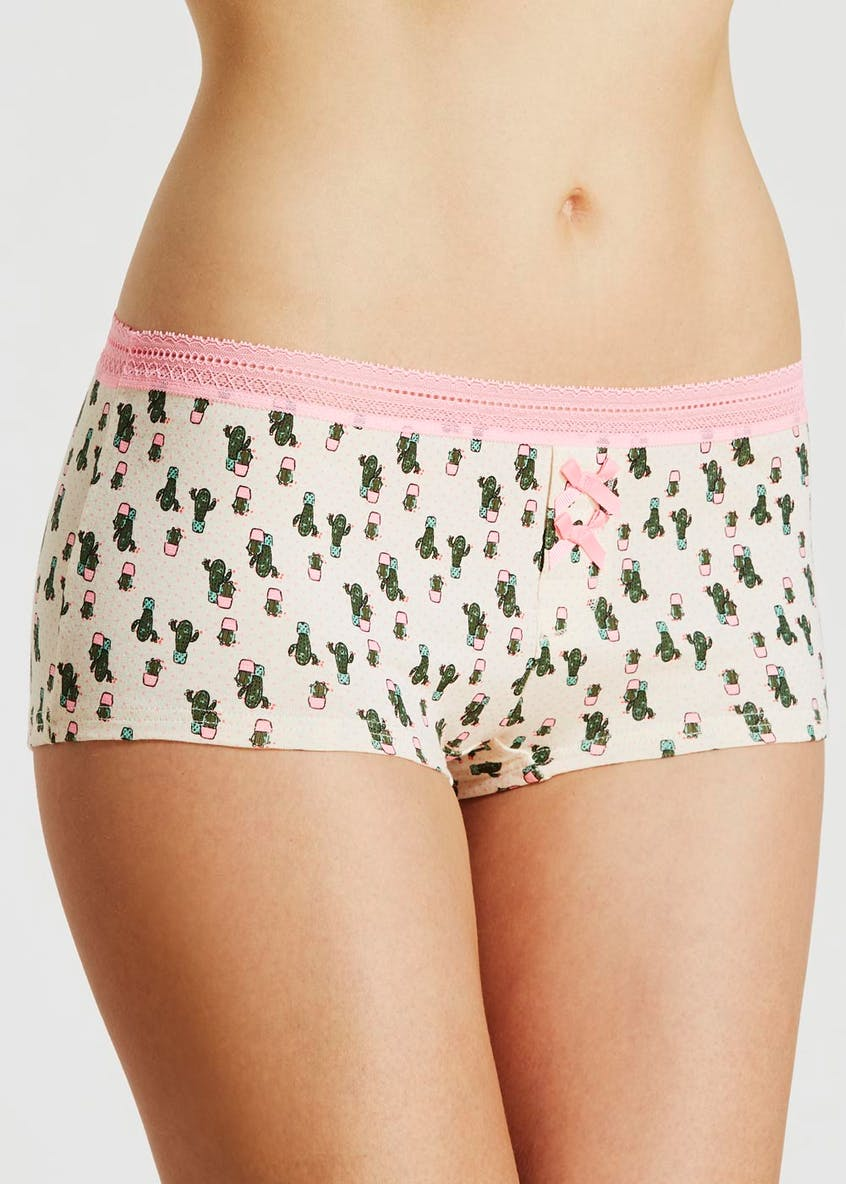 Cactus Boxer Knickers