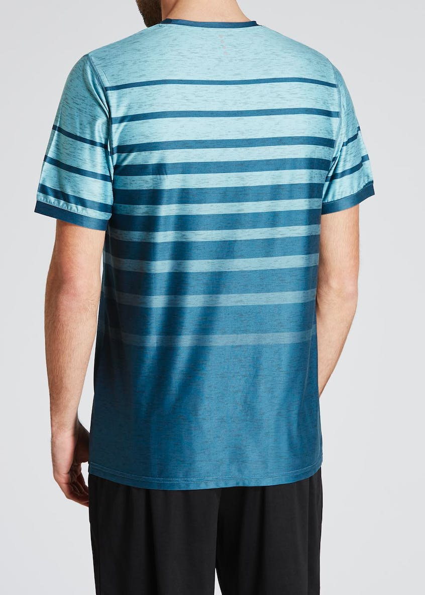 Souluxe Stripe Gym T-Shirt