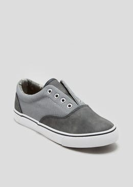 Boys No Lace Pumps (Younger 10-Older 6)