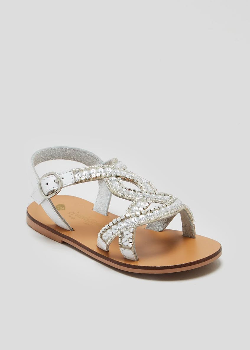 Girls Diamante Sandals (Younger 4-12)