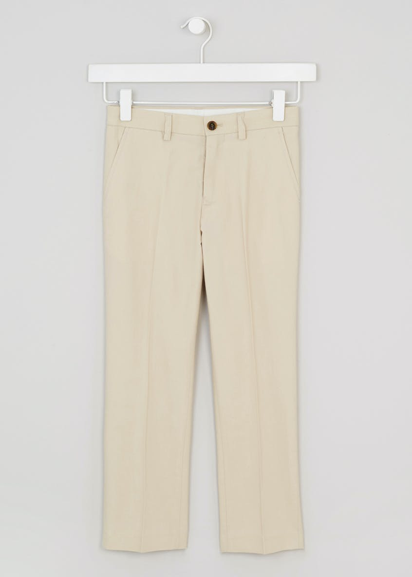 Boys Oxford Suit Trousers (4-13yrs)