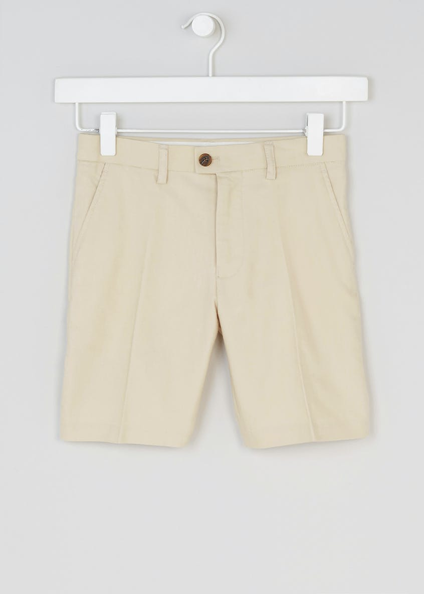 Boys Oxford Suit Shorts (4-13yrs)