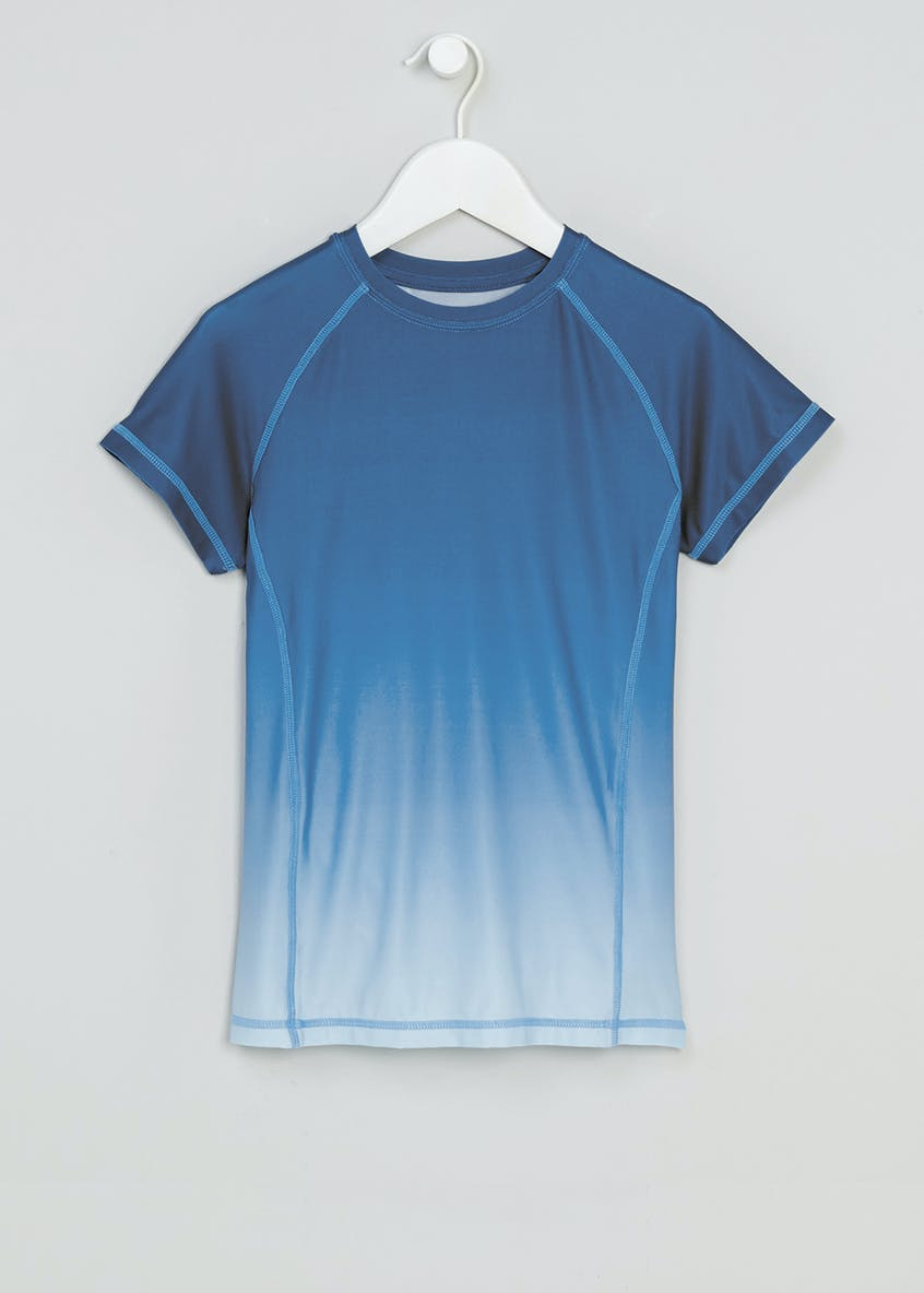 Boys Souluxe Ombre Sports T-Shirt (4-13yrs)