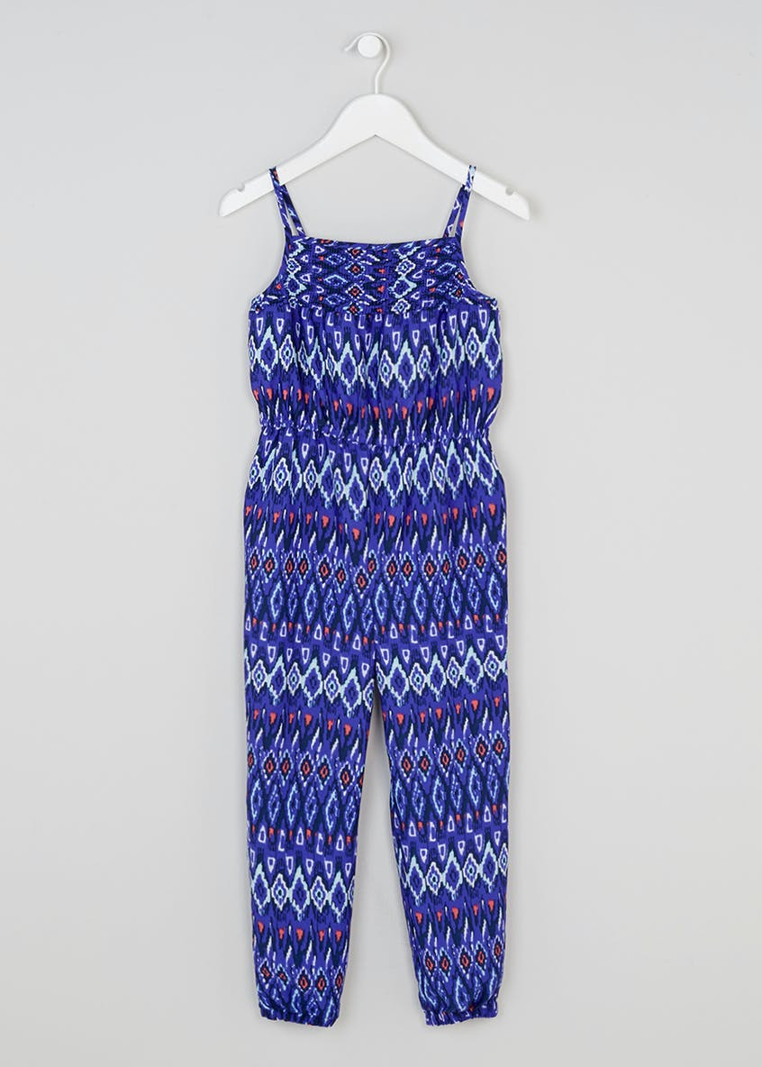 Girls Printed Jumpsuit (4-13yrs)