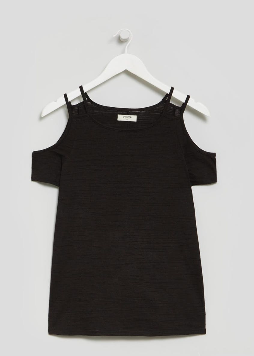 Cold Shoulder T-Shirt