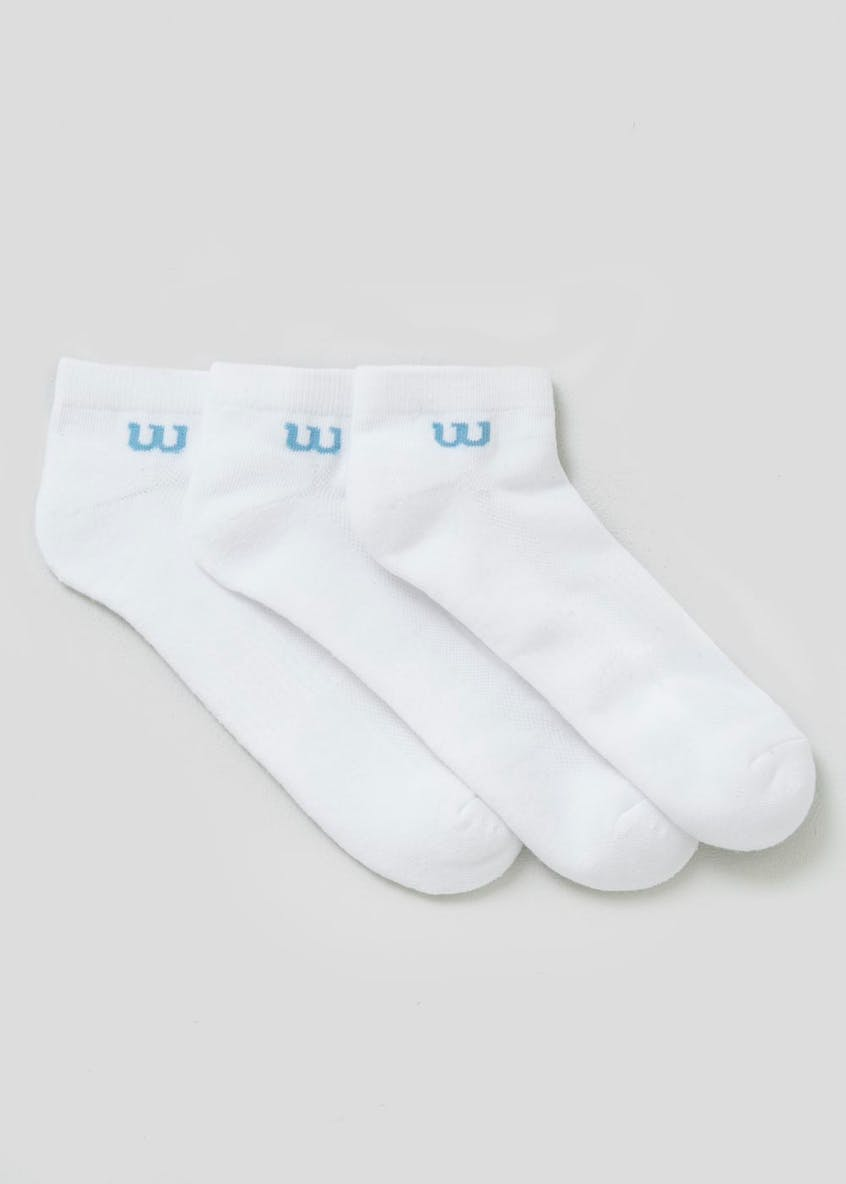 3 Pack Wilson Trainer Socks