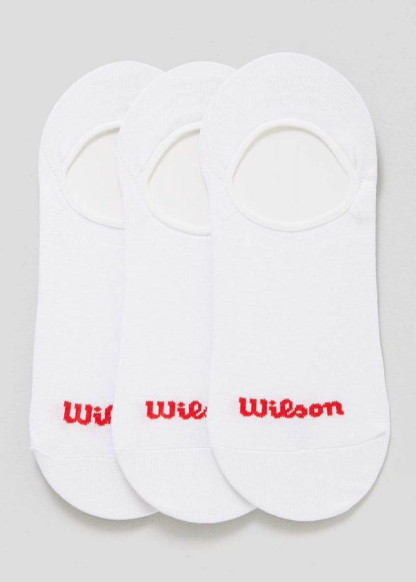 3 Pack Wilson Invisible Socks
