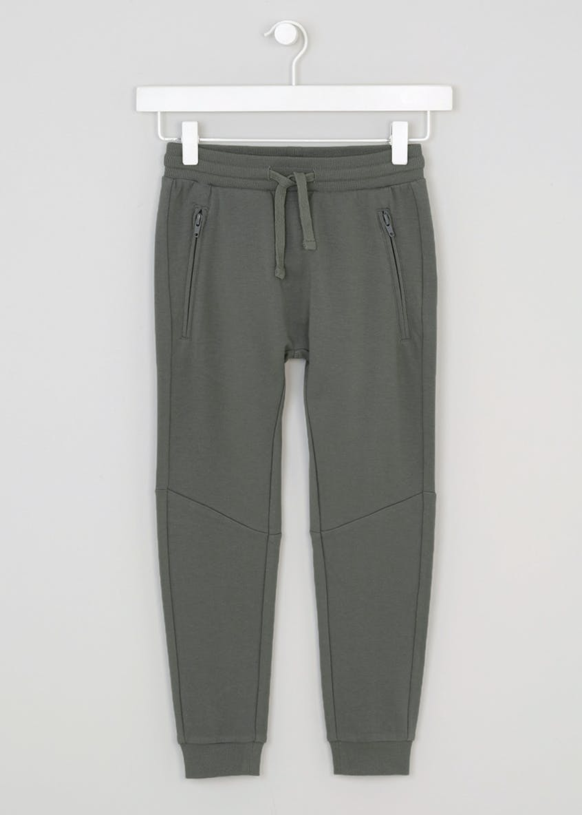 Boys Drop Crotch Skinny Jogging Bottoms (4-13yrs)