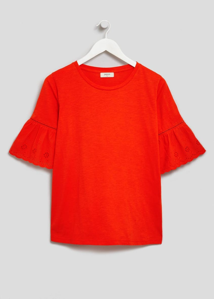 Schiffley Sleeve T-Shirt