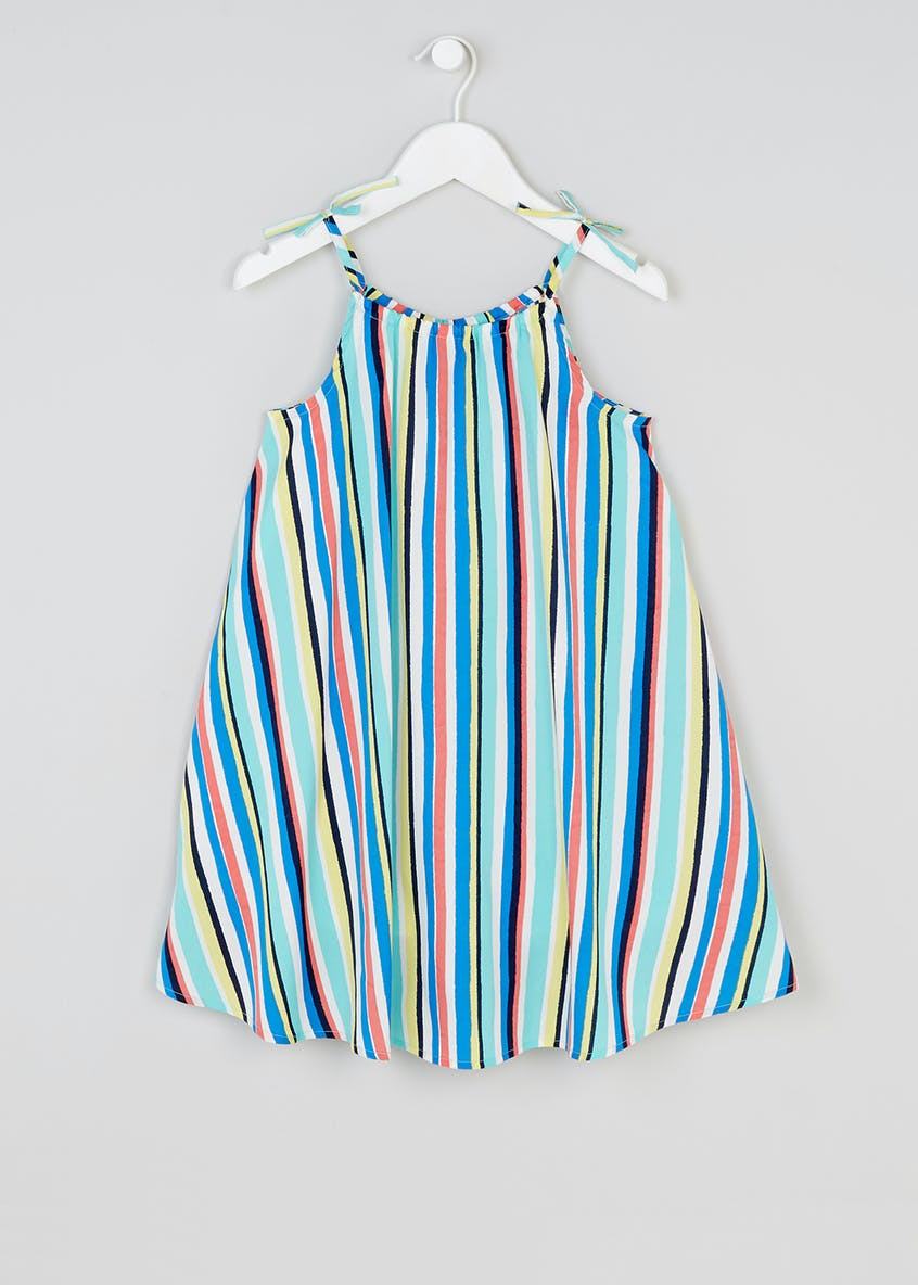 Girls Stripe Swing Dress (4-13yrs)