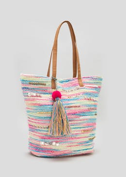 Space Dye Stripe Beach Bag