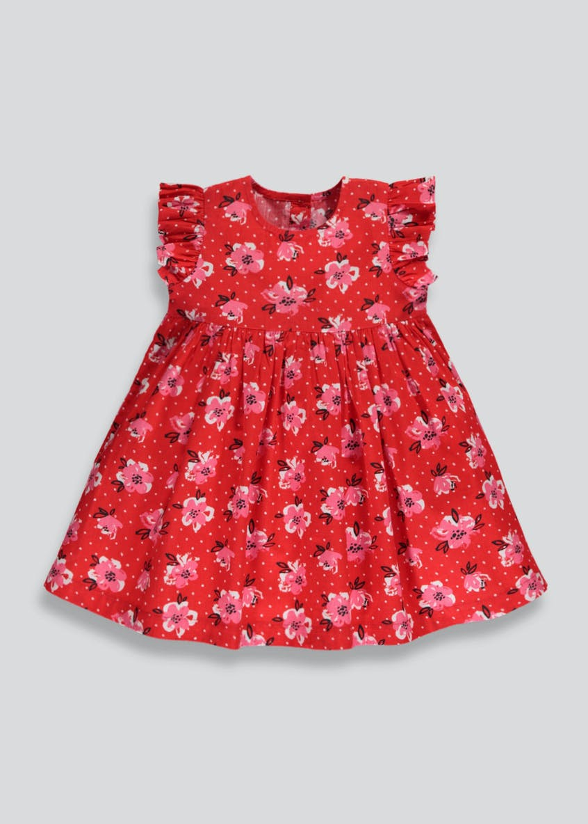 Girls Floral Dress (3mths-6yrs)
