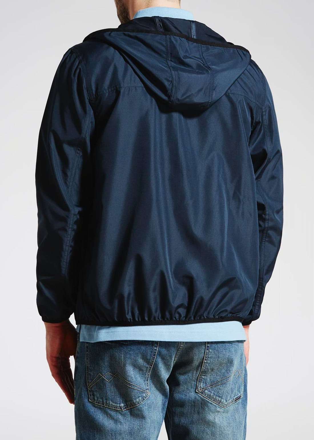 Hooded Zip Through Jacket