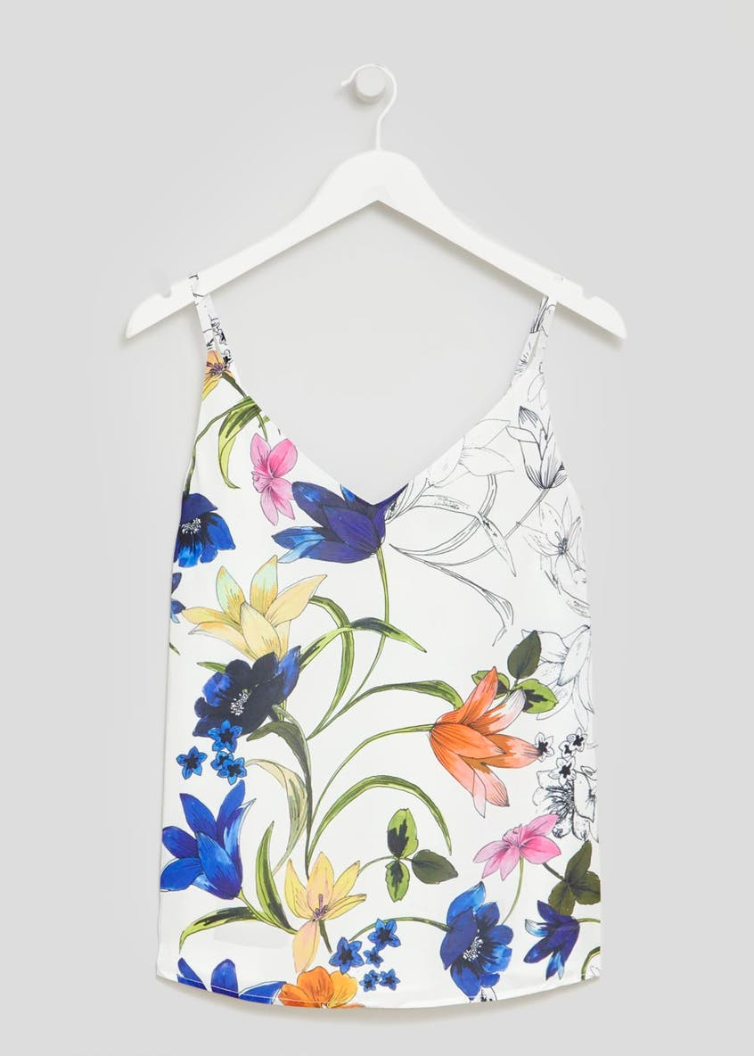 Soon St Lucia Floral Cami