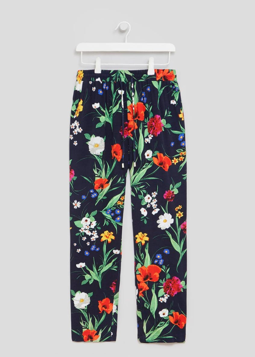Soon Meadow Floral Crepe Trousers
