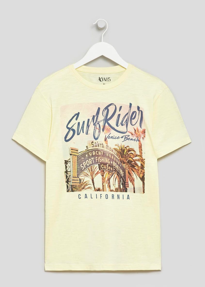 Santa Monica Graphic Print T-Shirt