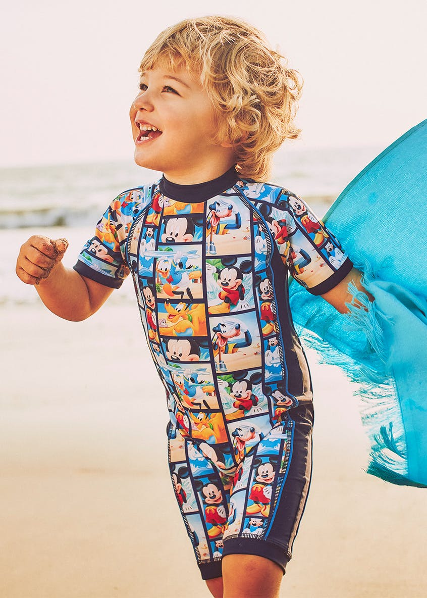 Kids Mickey Mouse Surf Suit (3mths-4yrs)