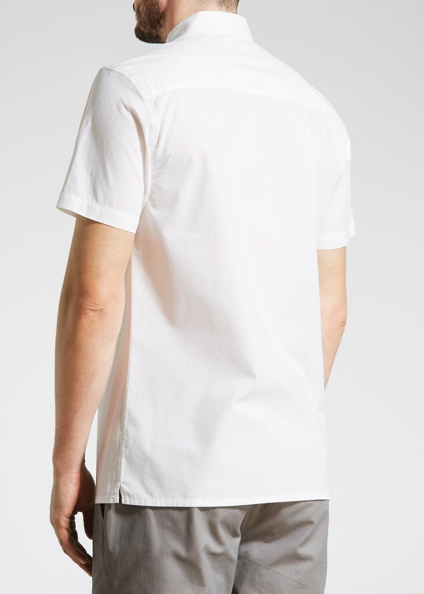 Panel Short Sleeve Shirt