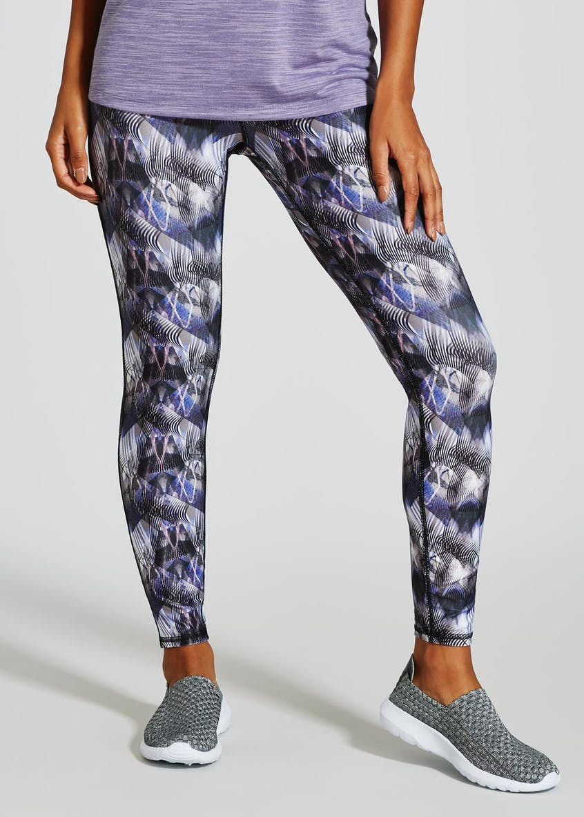 Souluxe Abstract Print Sports Leggings