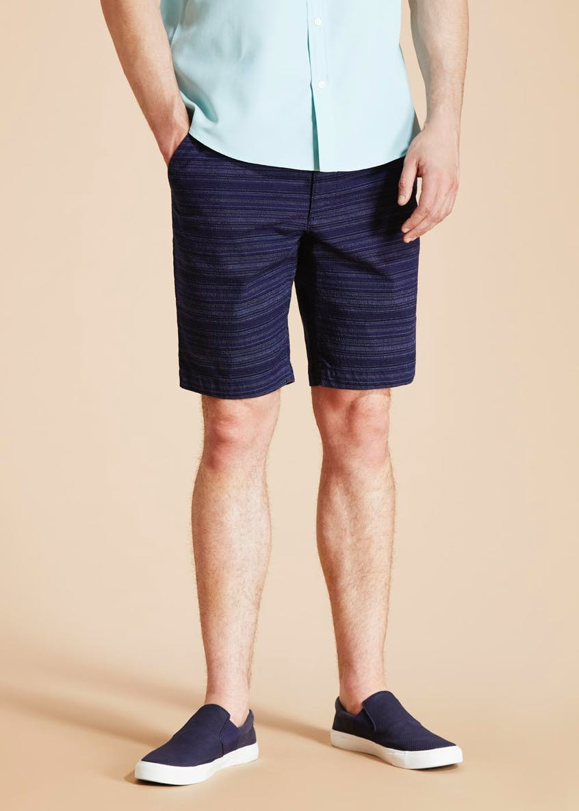 Morley Belted Textured Shorts