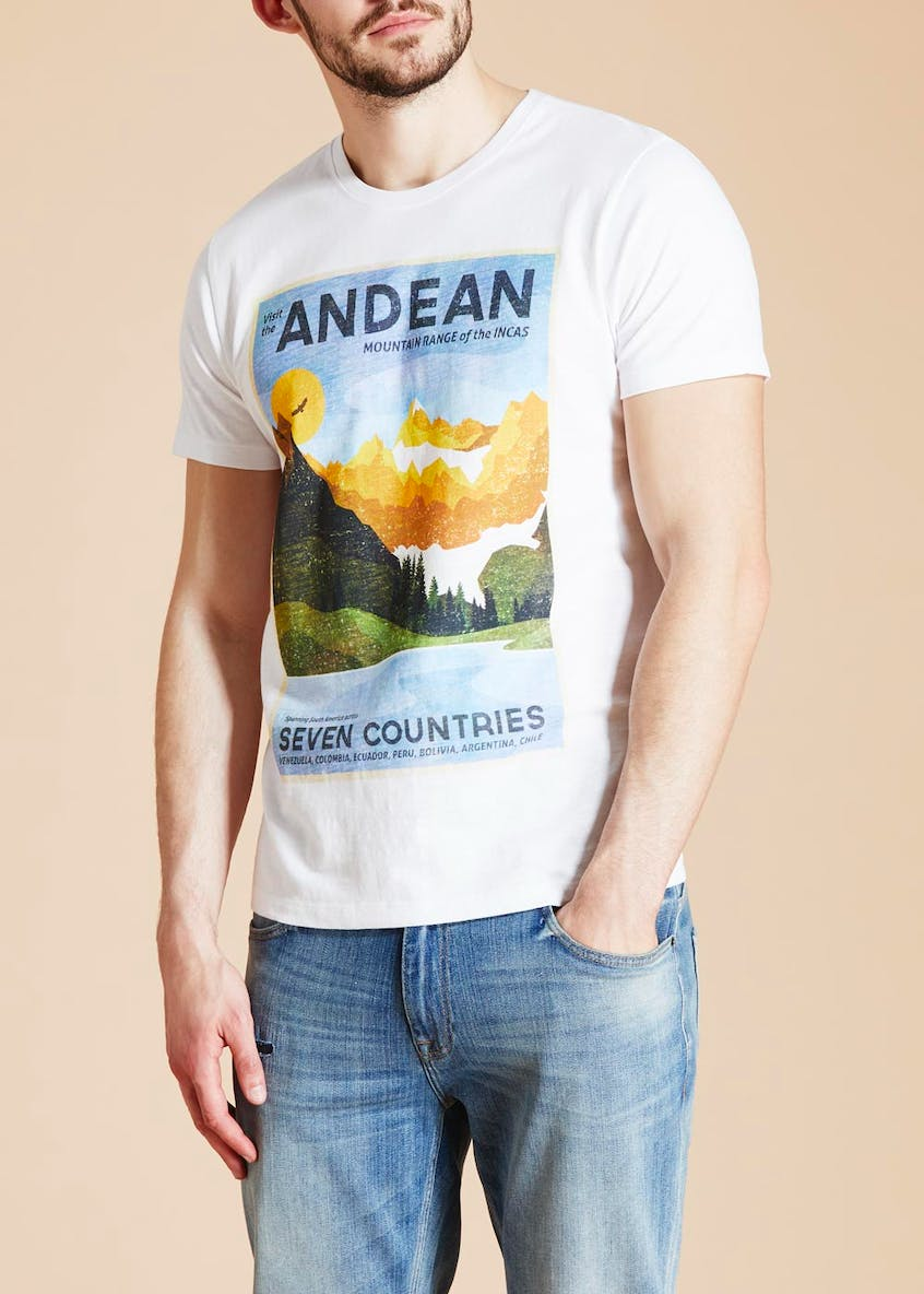 Morley Andean Print T-Shirt