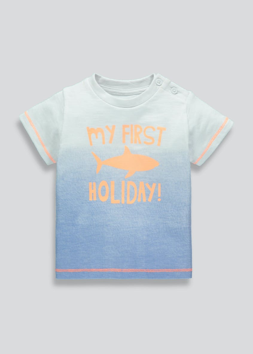 Kids My First Holiday T-Shirt (Newborn-18mths)