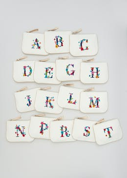 A-Z Alphabet Makeup Bag (25cm x 18cm)