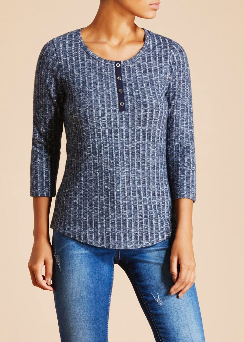 Falmer Brushed Henley Top
