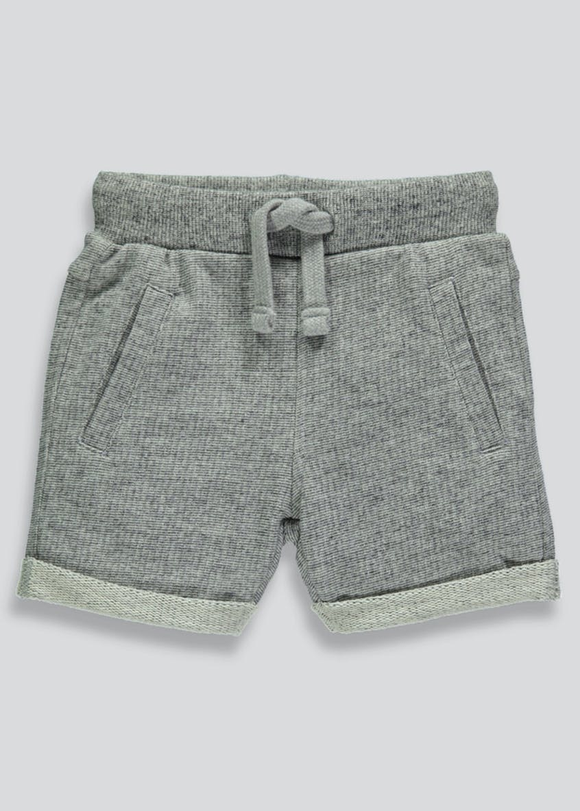 Boys Textured Shorts (3mths-6yrs)