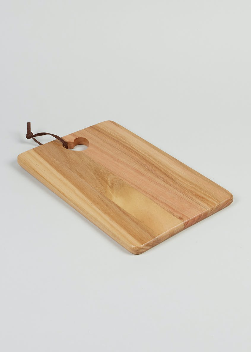 Cut Out Heart Chopping Board (30cm x 20cm)