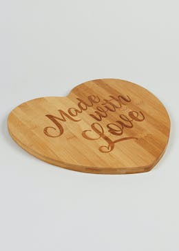 Heart Chopping Board (30cm x 26cm)