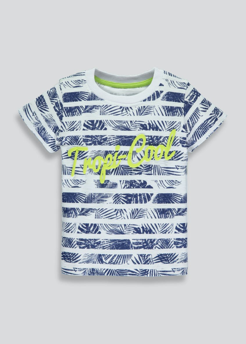 Boys Tropi-Cool Printed T-Shirt (3mths-6yrs)