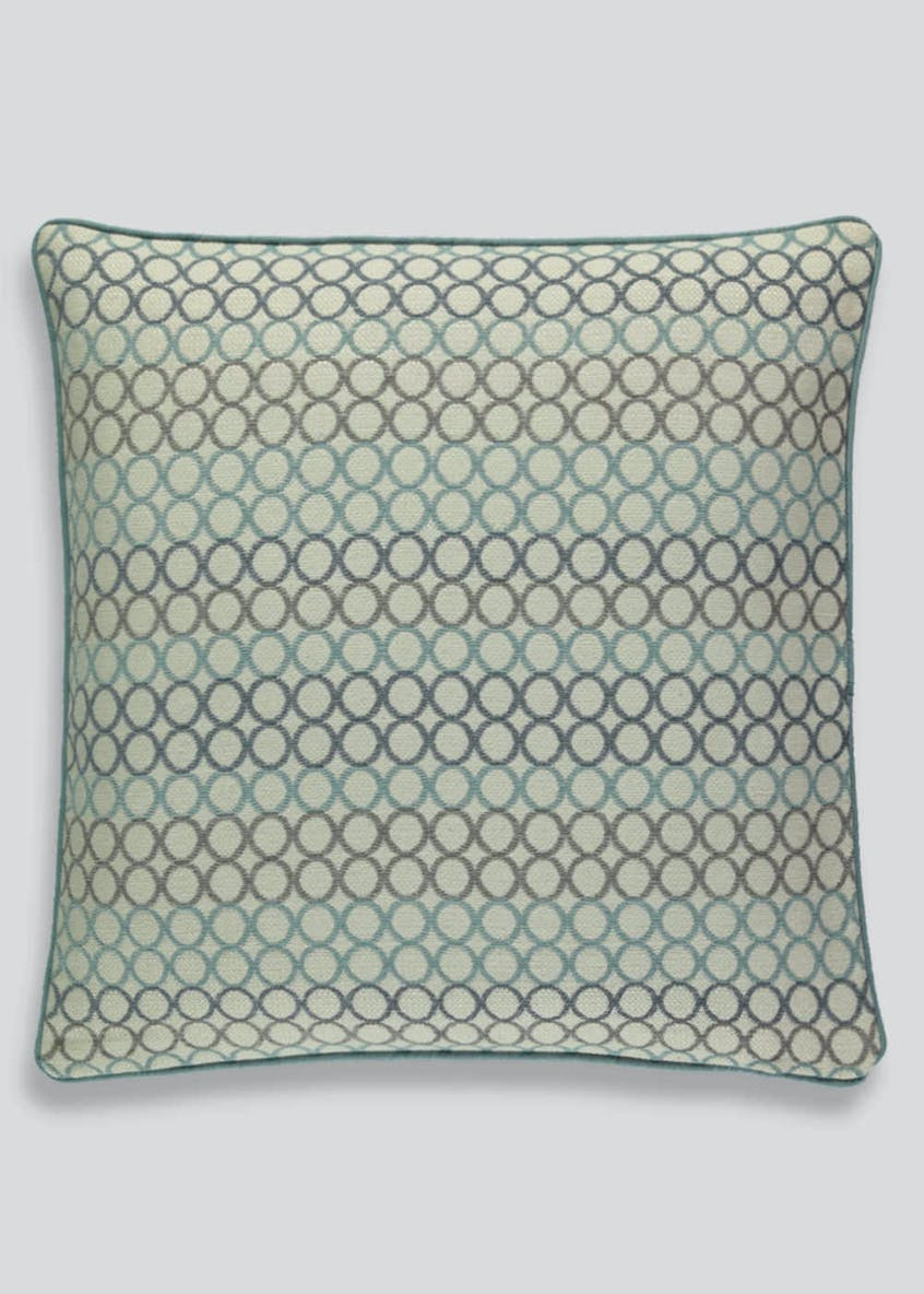 Circle Jacquard Cushion (46cm x 46cm)