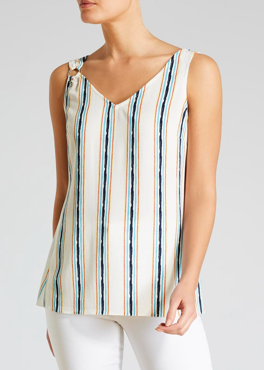 Stripe Ring Cami Top