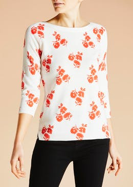Floral Super Soft Jumper