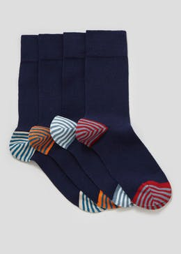 4 Pack Relaxed Hold Socks