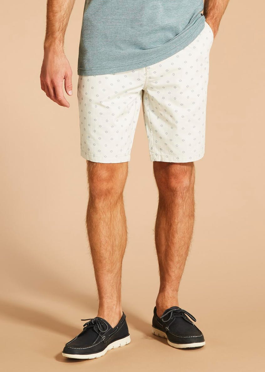 Morley Herringbone Shorts