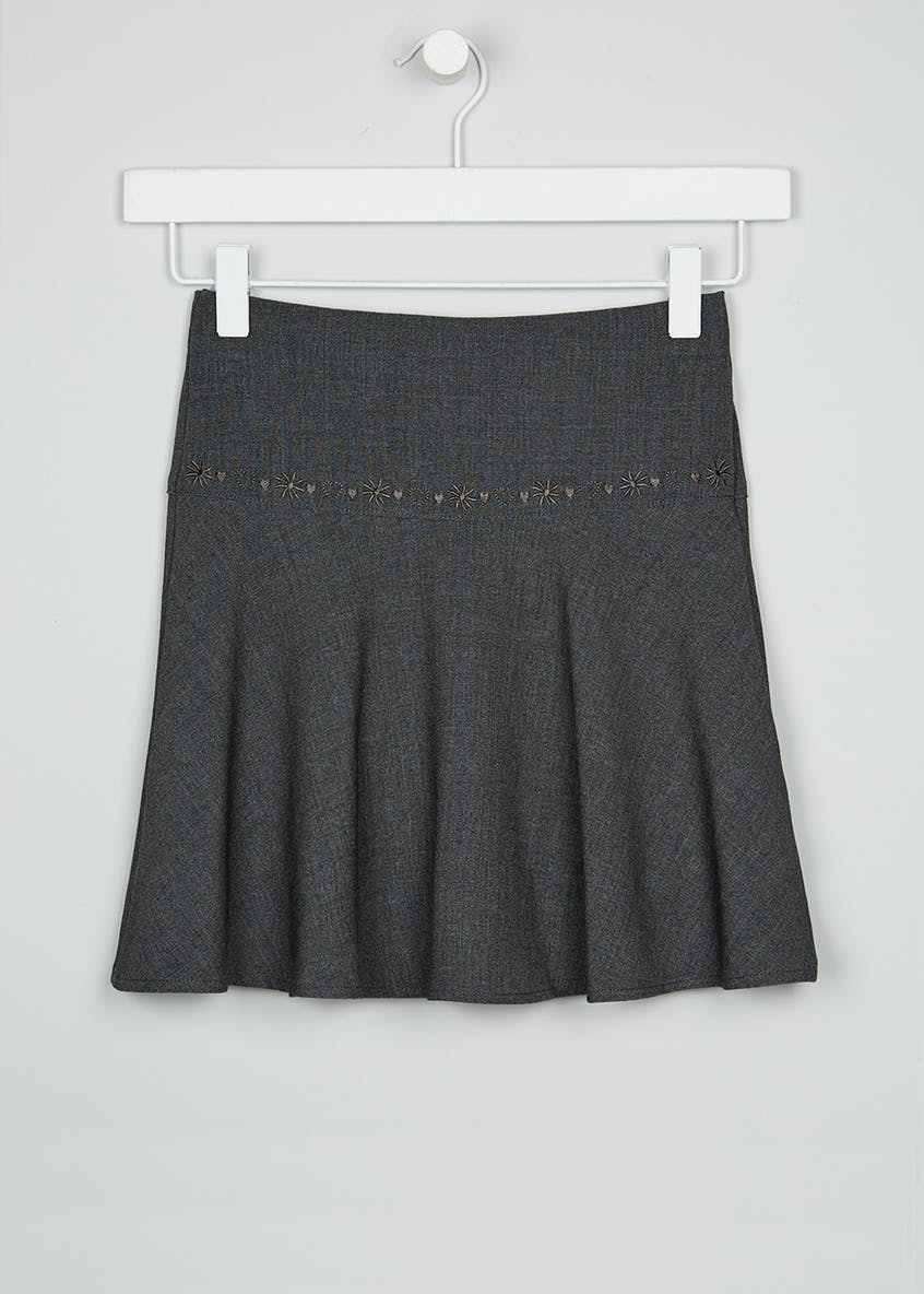 Girls Flippy School Skirt (4-13yrs)