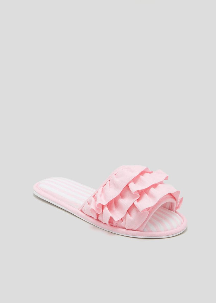 Frill Slider Slippers