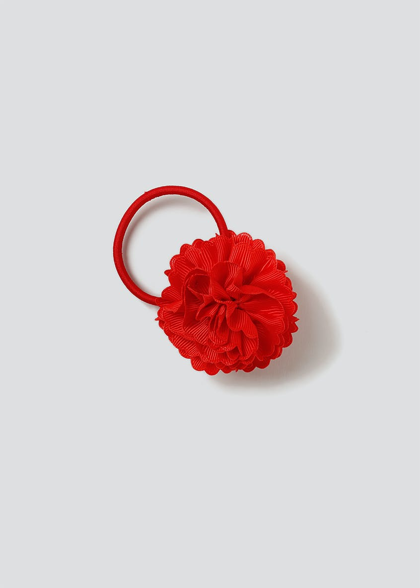 Ruffle Flower Hair Bobble