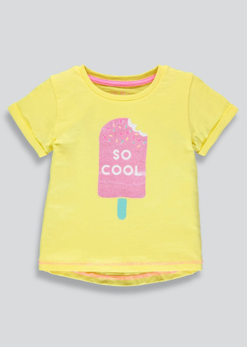 Girls So Cool Slogan T-Shirt (3mths-6yrs)