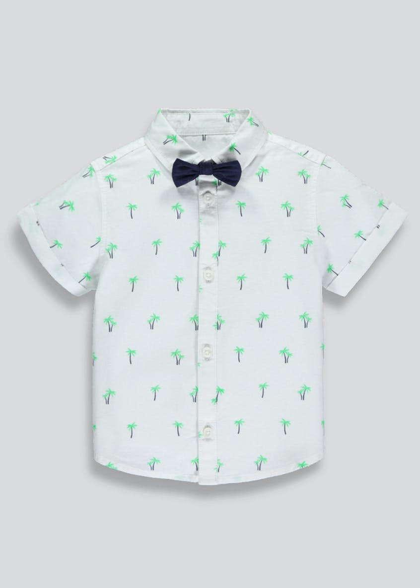 Boys Shirt & Bow Tie (3mths-6yrs)