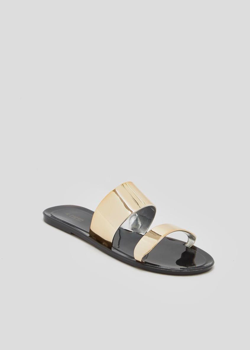 Twin Strap Jelly Sandals