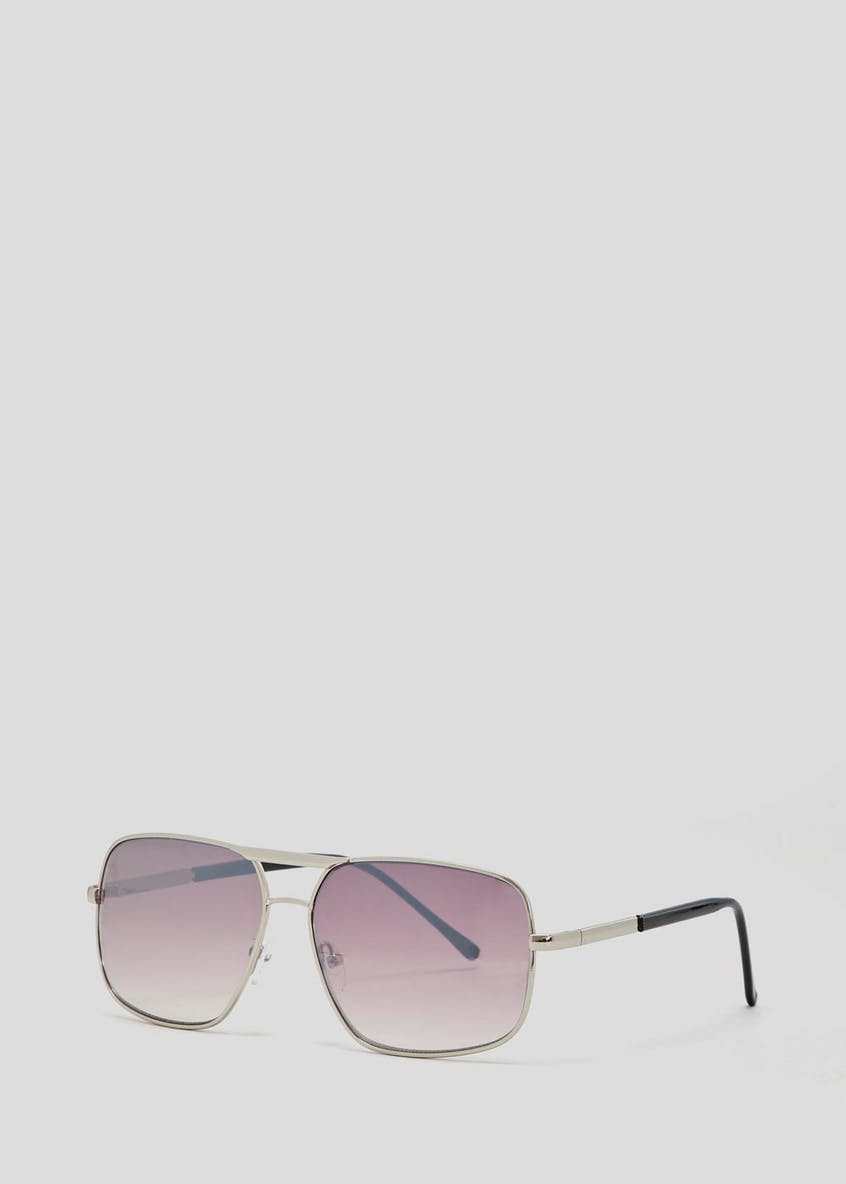 Square Mirror Sunglasses