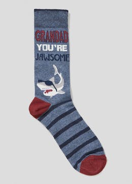Grandad Slogan Socks
