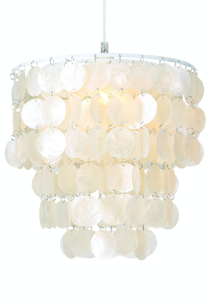 Capri Shell Easy Fit Lamp Shade (H32cm x W37cm)